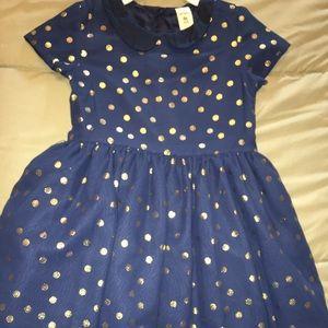 Carter's Navy Dress - girls toddler size 4T